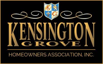 Kensington Grove HOA logo